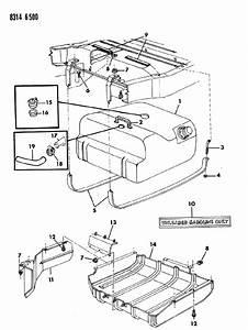 Dodge Dakota Valve  Fuel Tank Rollover Safety  Body