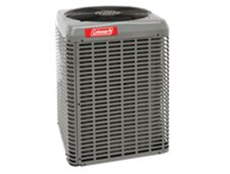 The ac unit overheats and gets very hot. Central Air Conditioner Coleman TC3 (LX Series) 1,5 to 5 ...