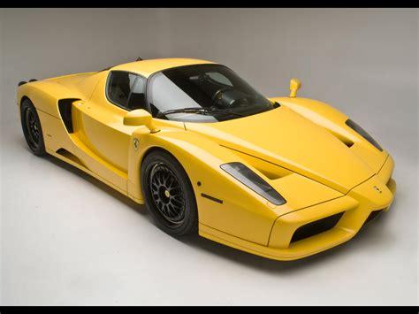 yellow ferrari enzo wallpaper cars wallpapers