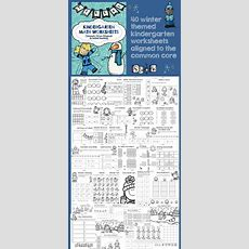 Kindergarten Winter Math Worksheets (common Core Aligned)  The O'jays, Math And It Works