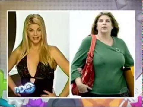 domingo espetacular as celebridades antes e depois da fama youtube