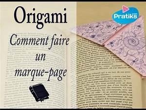 Comment Faire Des Origami : comment faire un marque page en papier pratiks ~ Nature-et-papiers.com Idées de Décoration