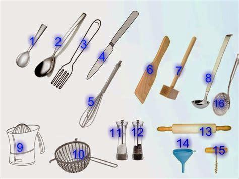 vocabulaire anglais cuisine la classe de français dans la cuisine objets de la