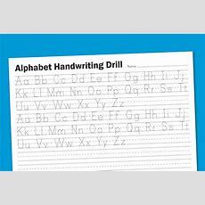 Free Printable Letter Tracing Worksheets For Kindergarten 26 Intended For Kindergarten Alphabet