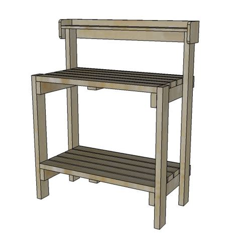 potting bench plans garden potting bench plans free woodworking projects plans