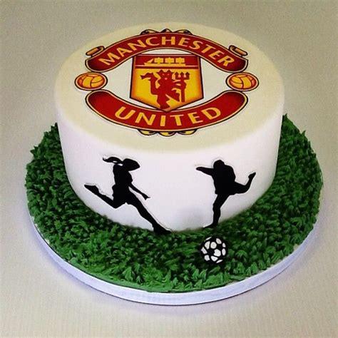 manchester united cake ideas  pinterest