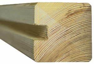 Holzpfosten Mit Nut : a nutpfosten premium 9x9cm vorgetrocknetes holz f r sichtschutz ~ Yasmunasinghe.com Haus und Dekorationen