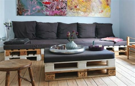 le canapé en palette nos nouvelles idées de récup