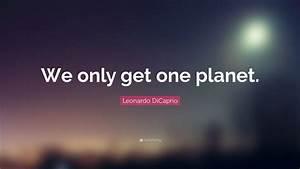 Leonardo DiCapr... Onegreenplanet Quotes