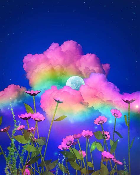 instagram rainbow wallpaper aesthetic pastel wallpaper