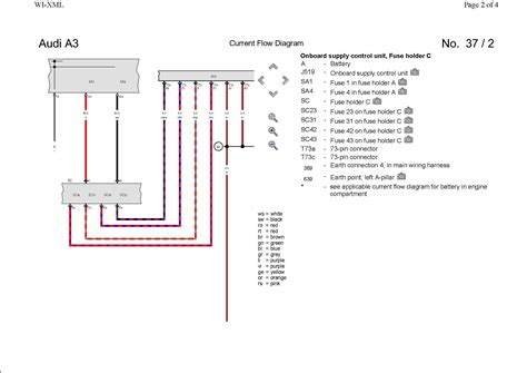Pin Out Wiring Diagram Rear Led Cluster Audi Sport