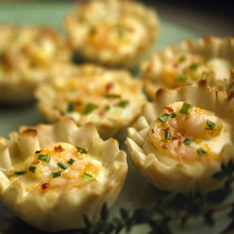 alouette cuisine alouette crème de brie shrimp cups bigoven