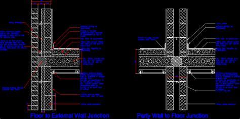 concrete floor details dwg detail  autocad designs cad