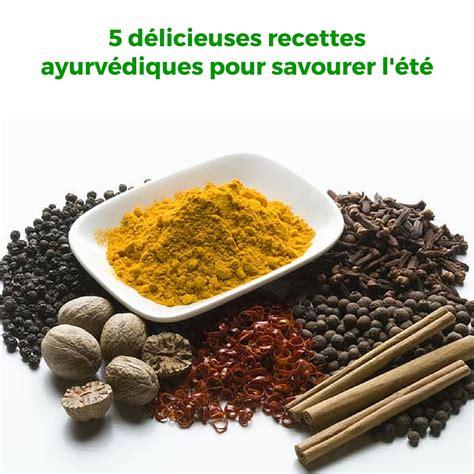 cuisine ayurvédique et yoguique carnet de 5 recettes