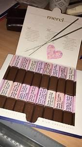 Kleines Geschenk Für Freund : merci valentinstagsgeschenk basteln diy geschenke bester freund geschenke zum abschied diy ~ Watch28wear.com Haus und Dekorationen