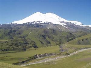 Elbrus The mountain is the highest point in Russia and ...