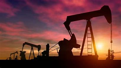 Oil Sunset Rig Drilling Rigs Pump Wallpapers