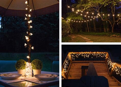 holiday lighting ideas for decks outdoor and patio lighting ideas