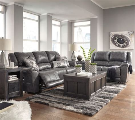Leather Sofa And Loveseat For Sale by Furniture Persiphine Leather Reclining Sofa And