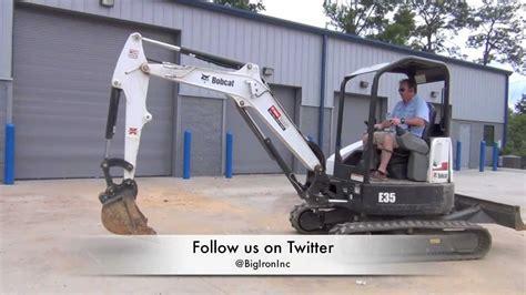 bobcat  mini excavator  sale    pair youtube
