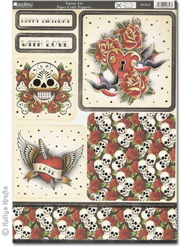 Kanban Craft Toppers  Tattoo Art (900816)  £175 Card