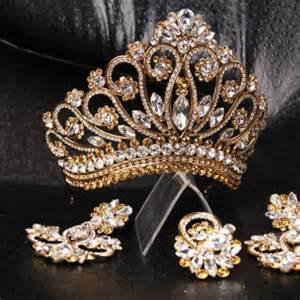 Gold Tiara Princess Crown
