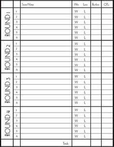 score pad   easy   track  scores
