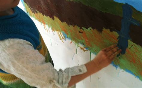 kinder jugendliche und eltern kind malen hik