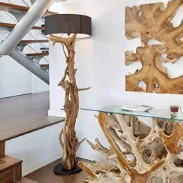 Stehlampe Holzfuß : stehlampe aus treibholz ~ Pilothousefishingboats.com Haus und Dekorationen