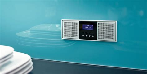 radio pour salle de bain encastrable برنا کوشش هنرمعماری آنلاین