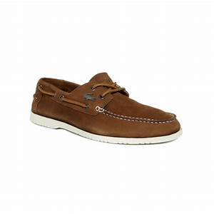 Lacoste Corbon Boat Shoes in Brown for Men | Lyst