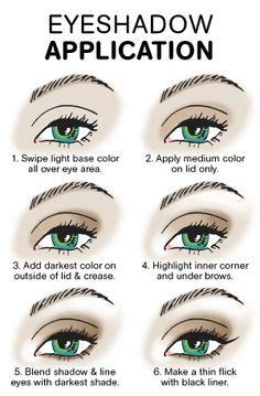 How Apply Eye Shadow For Beginners Tutorials Beauty