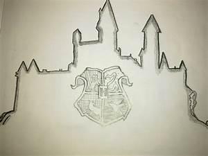 Hogwarts Castle Drawing - AlbanianFan © 2018 - Jul 22, 2013