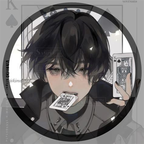 Aesthetic Anime Pfp Circle Boy 285 Images About Anime