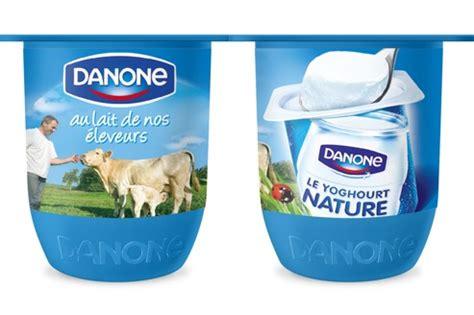 danone donne un coup de 224 ses pots de yaourt