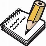 Notepad Clip Svg