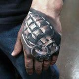 Skeleton Hand Grenade Tattoo | 599 x 599 jpeg 52kB