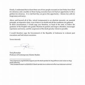 Press release professor tariq ramadan sent a letter to for Ceo press release template