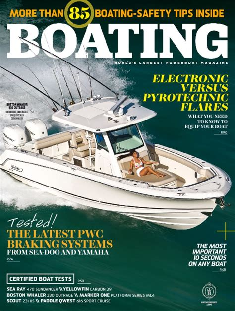 Largest Boating Magazine boating magazine the world s largest powerboat magazine