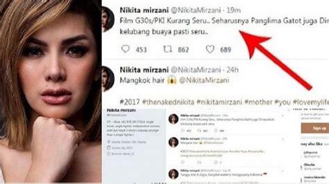 Bikin Status Diduga Hina Panglima Tni Akun Twitter Nikita