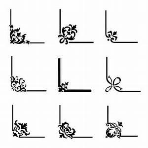 Schleifmaschine Kleine Ecken : ornamente ecken vektoren fotos und psd dateien ~ Lizthompson.info Haus und Dekorationen