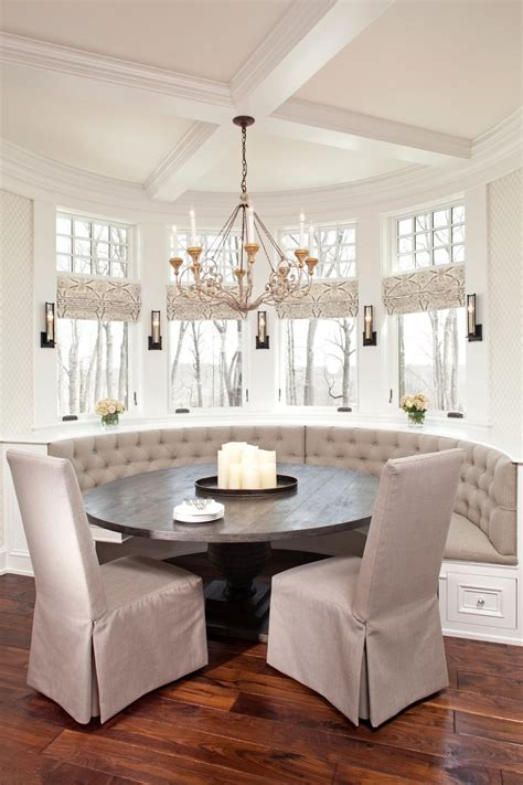 custom cozy kitchen dining nooks  built  seating