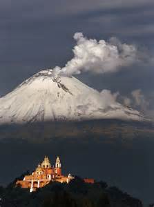 Mexico Volcanoes Popocatepetl