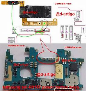 Samsung Galaxy Note Edge N915 Power Button Solution