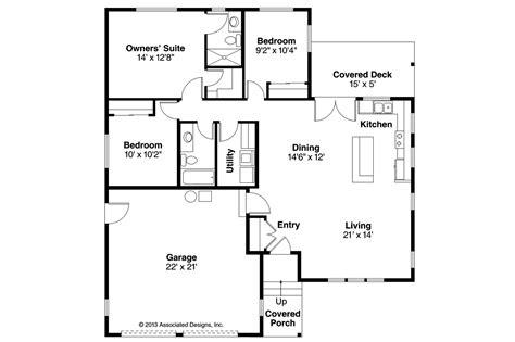 a house plan ranch house plans kenton 10 587 associated designs