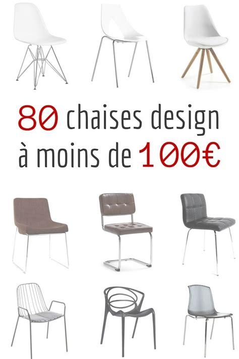 table de cuisine moderne pas cher chaise design pas cher 80 chaises design à moins de 100