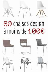 Chaise Design Pas Cher : 80 Chaises Design à Moins de 100€