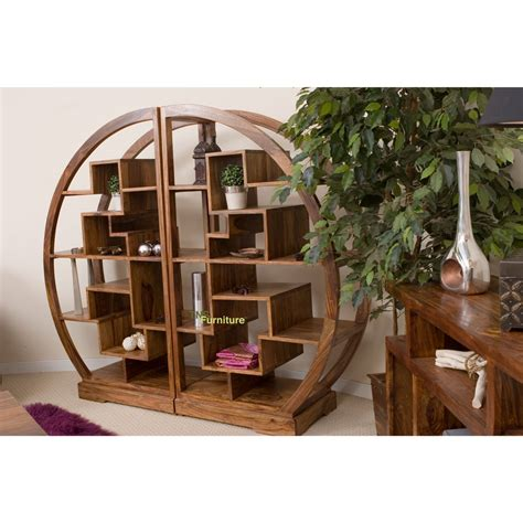 tns furniture cube curved display bookcase