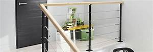 Rampe Escalier Lapeyre : rampe escalier balustrade int rieur lapeyre ~ Carolinahurricanesstore.com Idées de Décoration