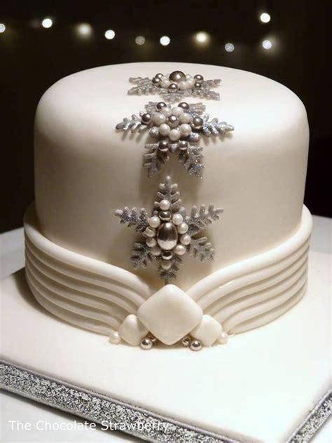 christmas cake decorations ideas  pinterest